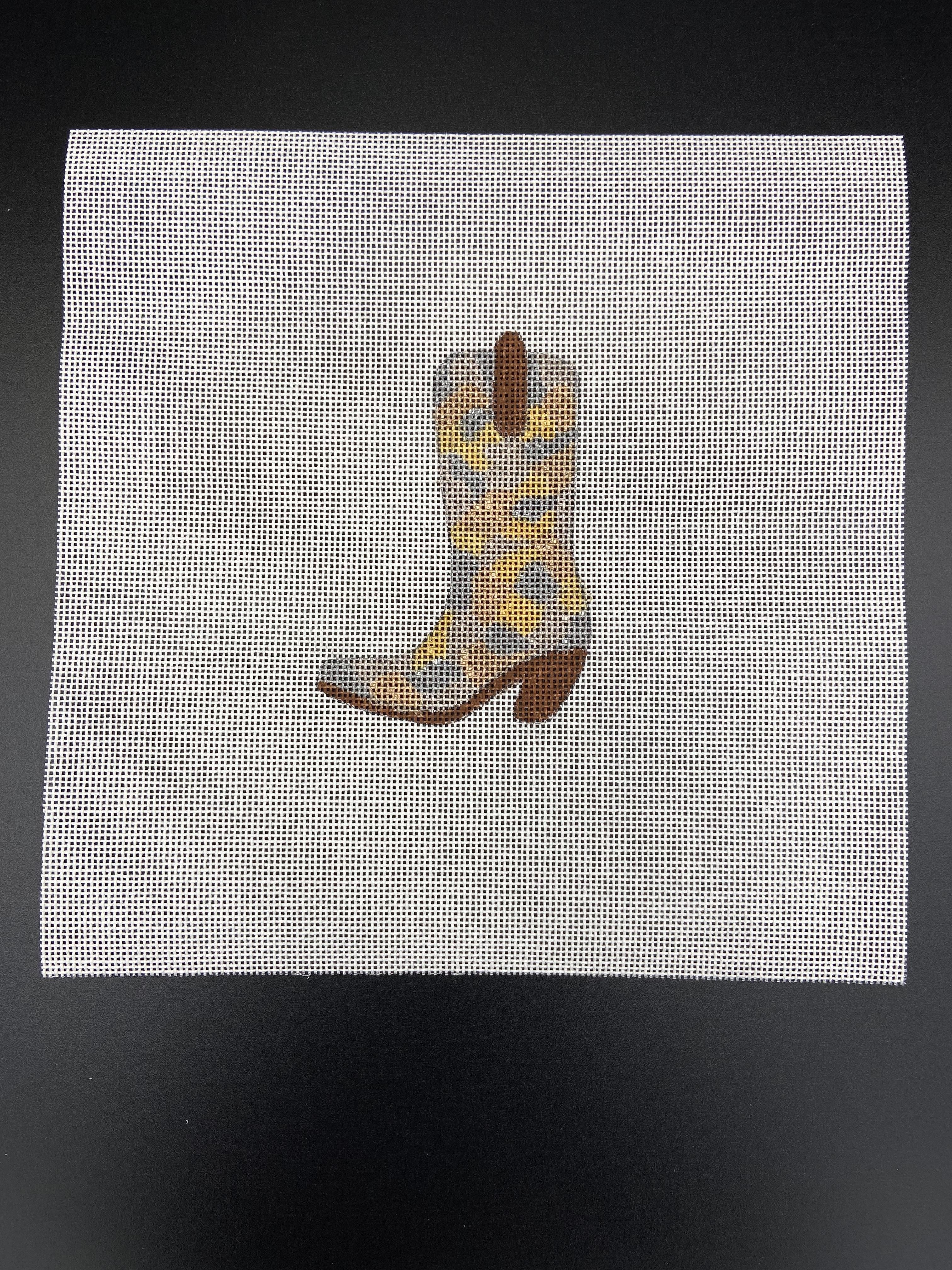 Metallic Camo Boot