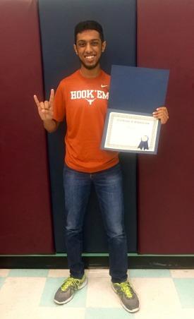 Safiq Sindha - Harmony High School Graduate