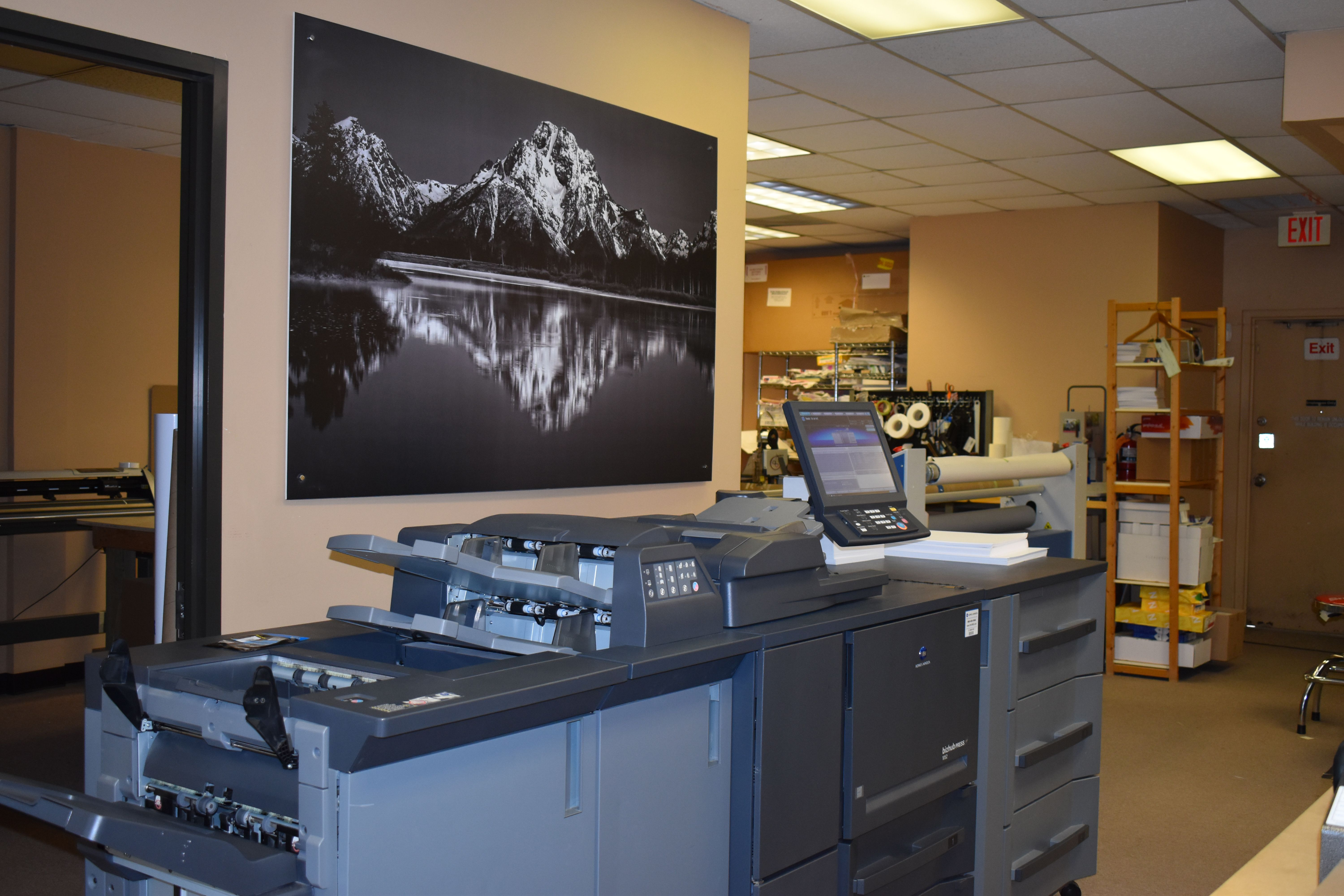 One of Our Digital Presses