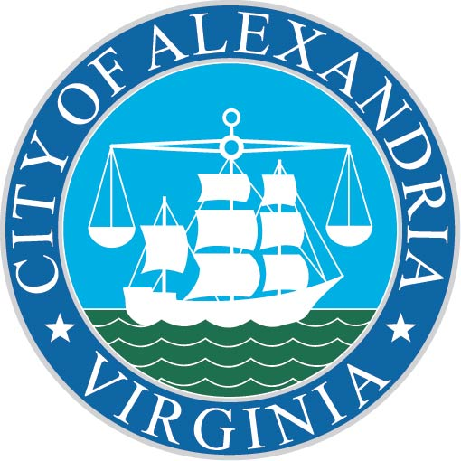 DP-1020 - Carved Plaque of the Seal of the City of Alexandria, Virginia,  Artist Painted
