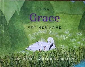 """""""How Grace Got Her Name"""" children's book. $30 shipping within USA only"""