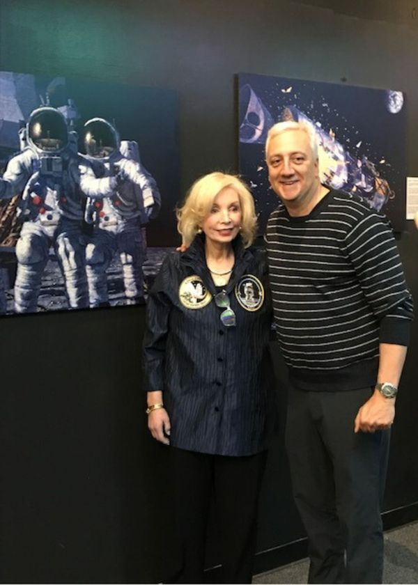 Intimate Insights into the Life of Apollo Astronaut & Artist Alan Bean on 50th Anniversary of Apollo 12  w/Intro from NASA Astronaut Mike Massimino