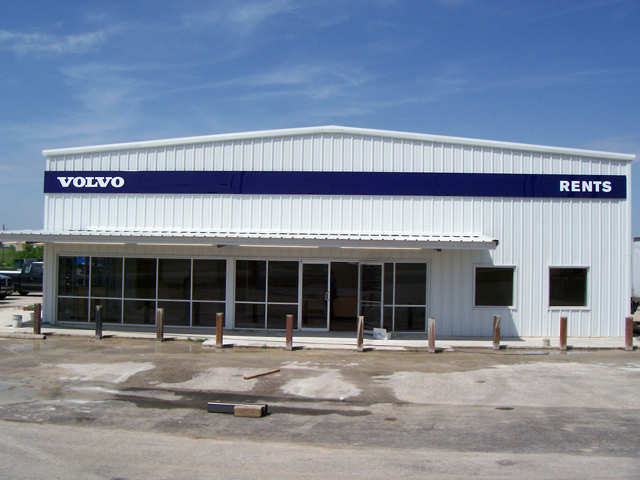 Volvo Rents- Manufacture & Installation