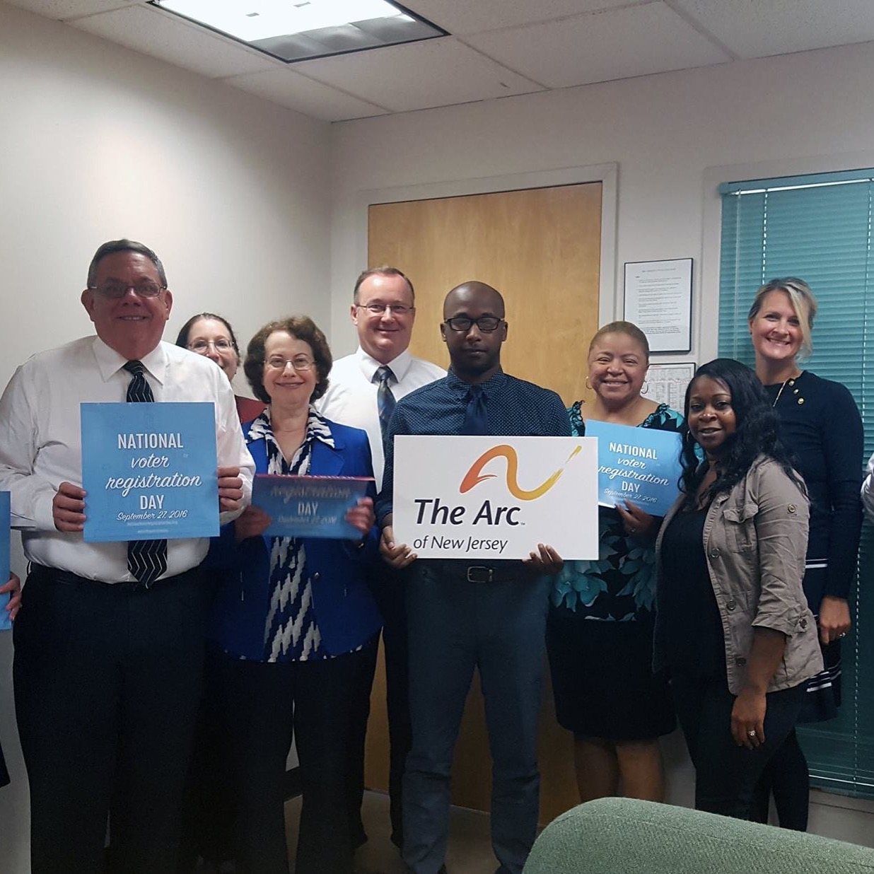 The Arc of New Jersey Get's Out the Vote