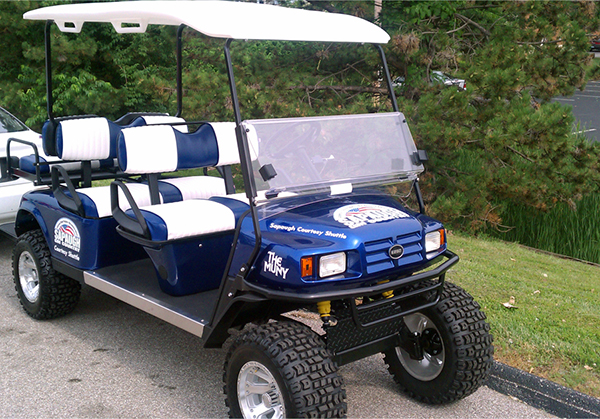 The Muny Golf Cart
