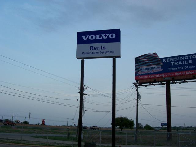 Volvo Rents Pylon- Manufacture & Installation