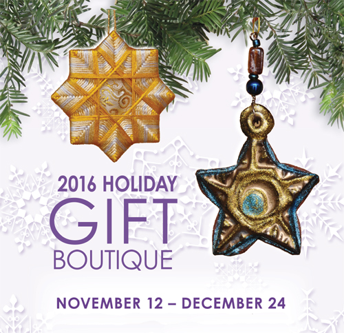 HOLIDAY GIFT BOUTIQUE (posted October 27, 2016)