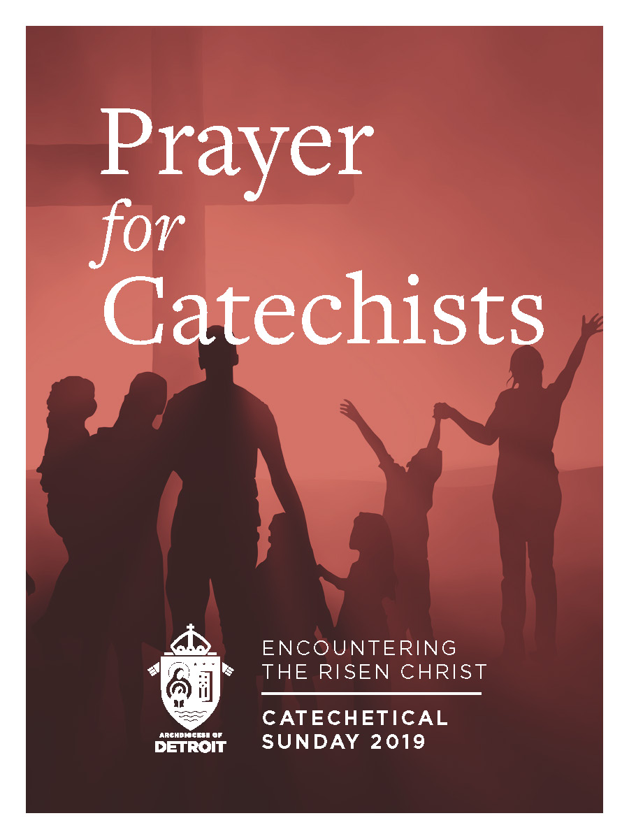 Catechetical Sunday Prayer Card - Prayer for Catechists