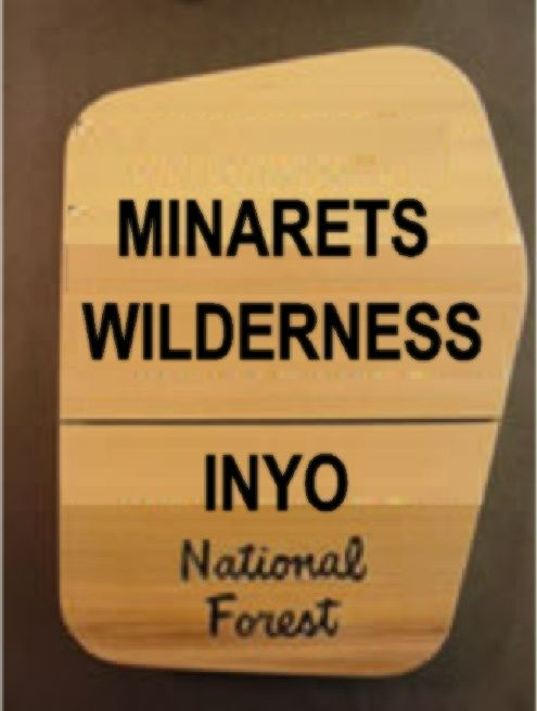 M3630 - Naturally Finished Cedar Routed National Wilderness Sign (Gallery 16)