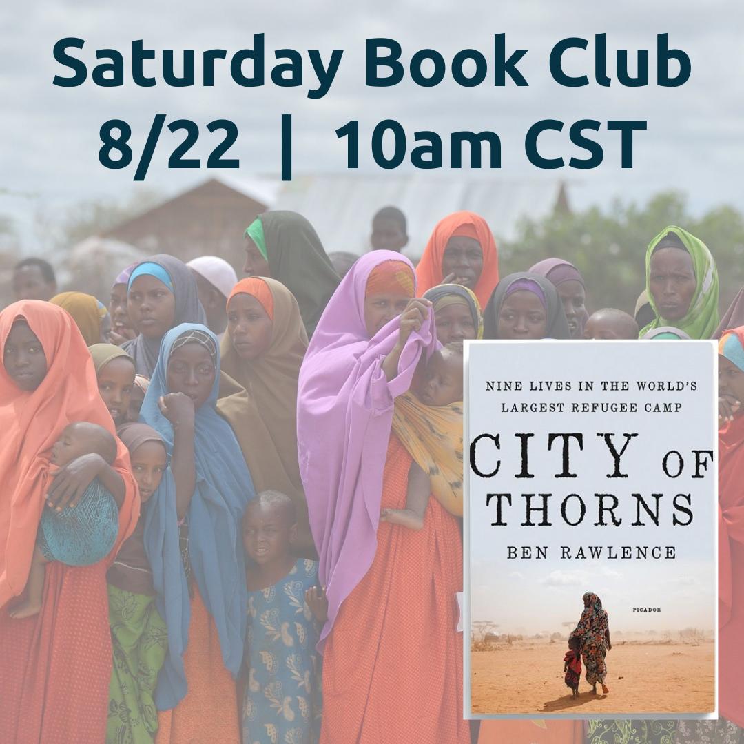 RST's Virtual Book Club: City of Thorns