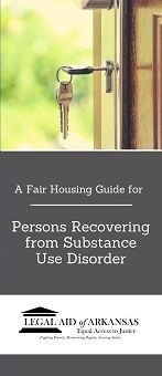A Fair Housing Guide for Persons Recovering from Substance Use Disorder
