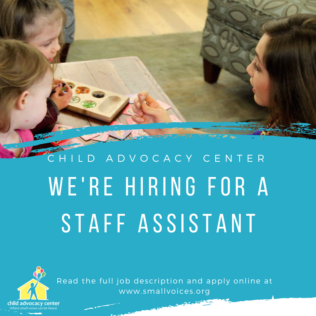 We're hiring for a Staff Assistant!