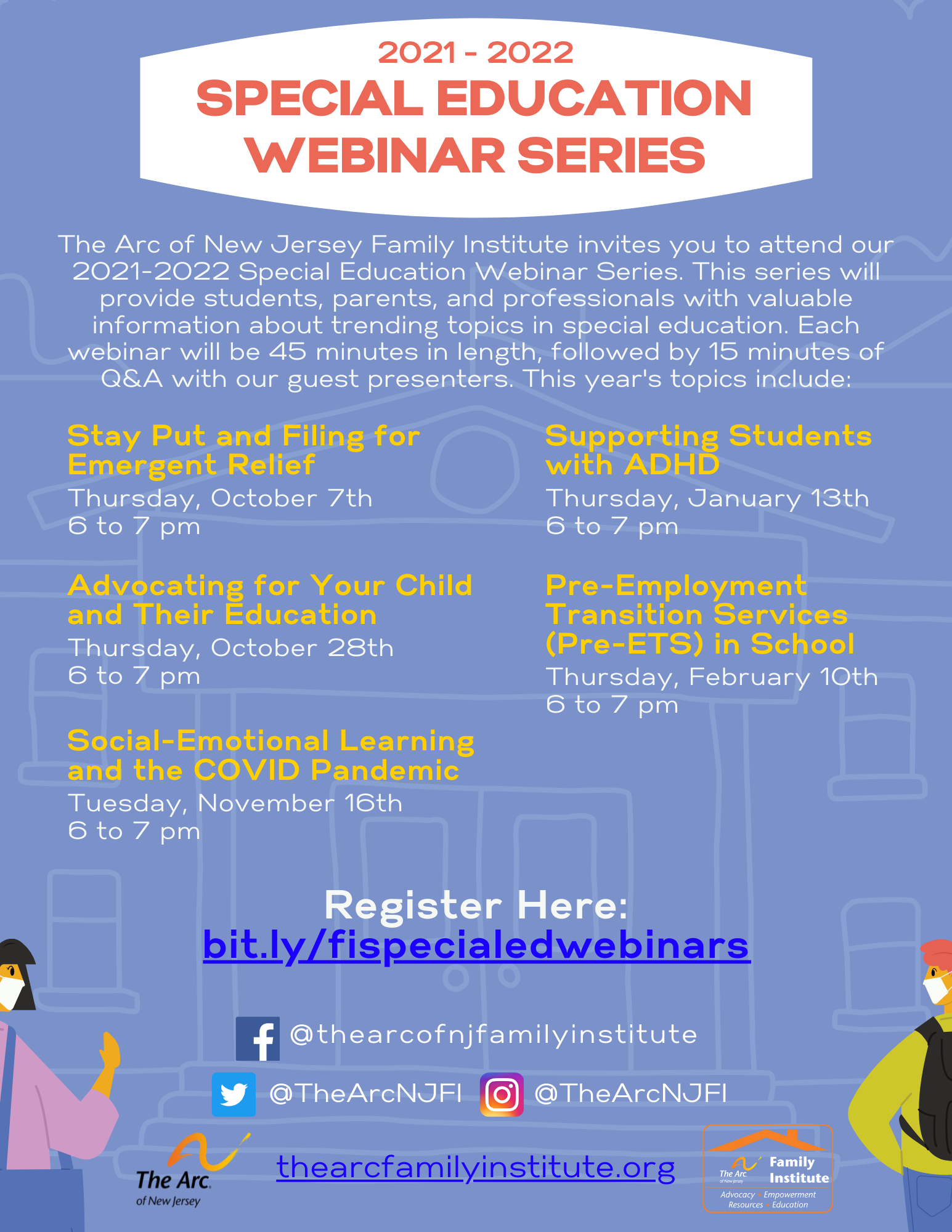 Special Education Webinar Series
