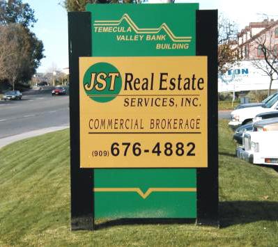 real estate sign posts. real estate sign posts.