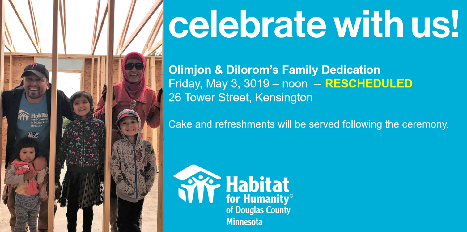 Olimjon & Dilorom's Dedication - Rescheduled