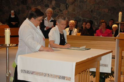 Sister Madelyn Louttit Makes Perpetual Monastic Profession - June 9, 2012