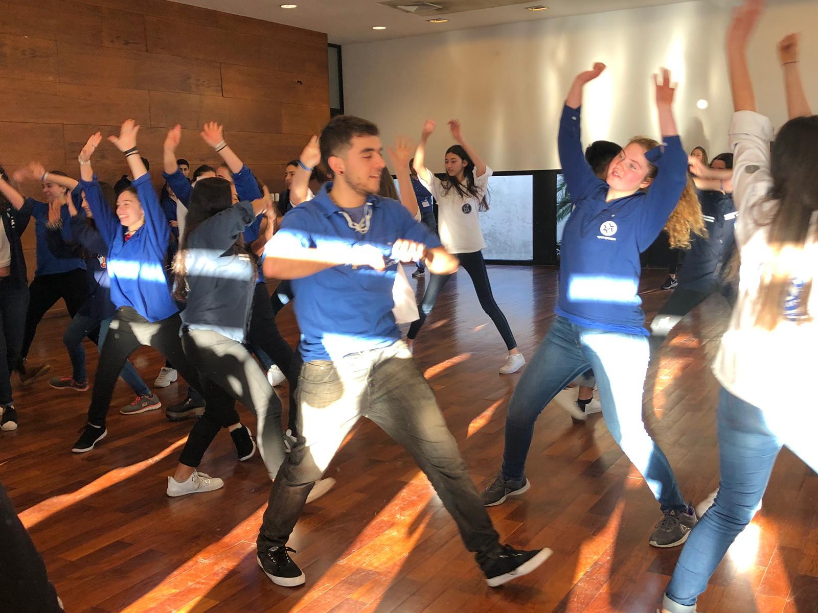 Teens at JDC School in Uruguay