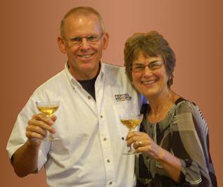 Nancy DeDiemar and Patrick Jones
