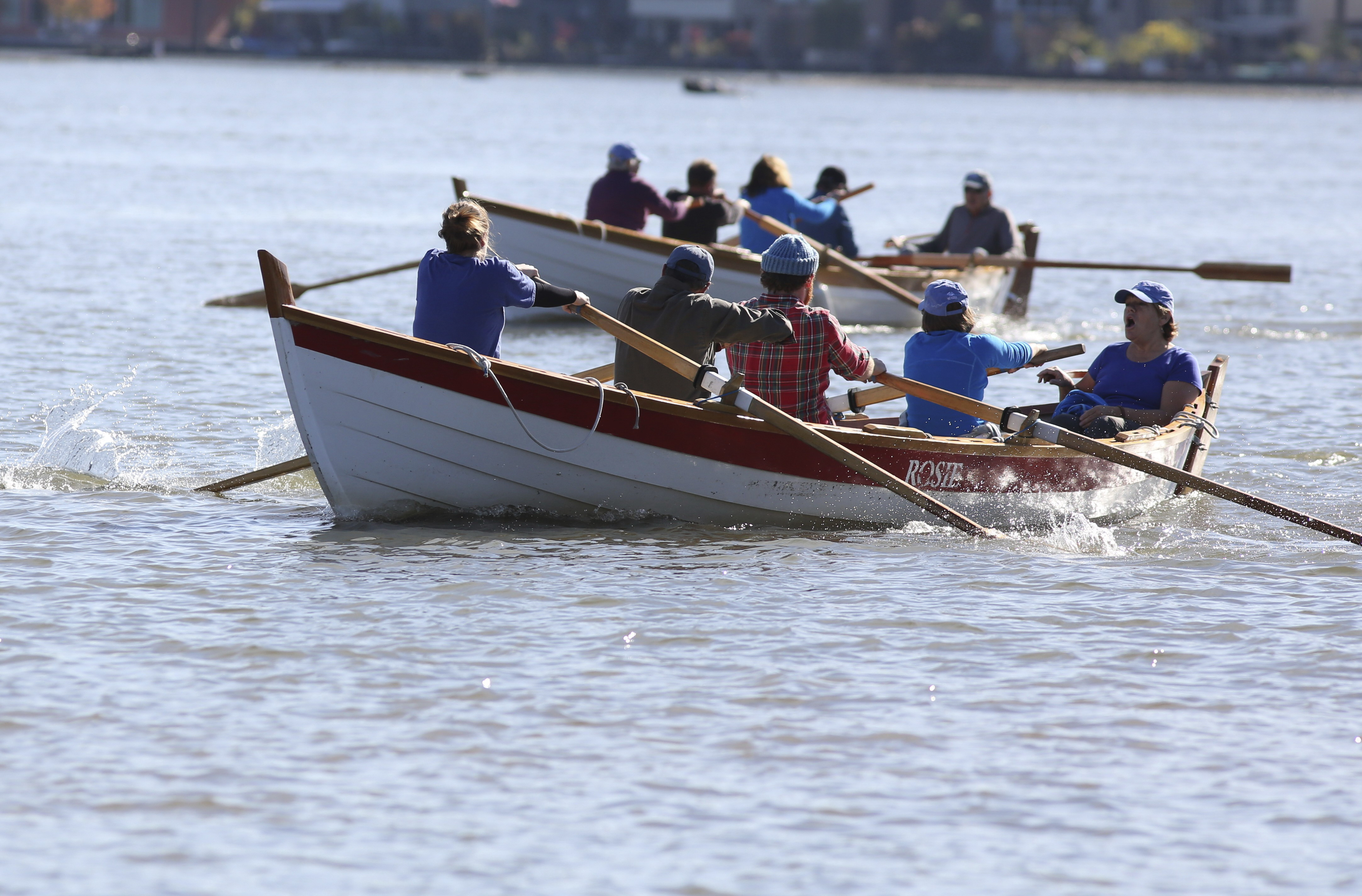 St Ayles racing on Willamette