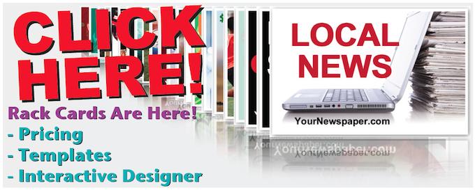 Local News Rack Cards