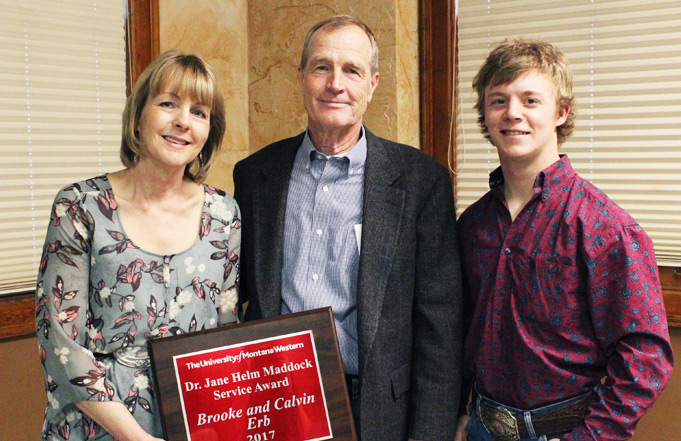 Montana Western Honors its Greatest Supporters