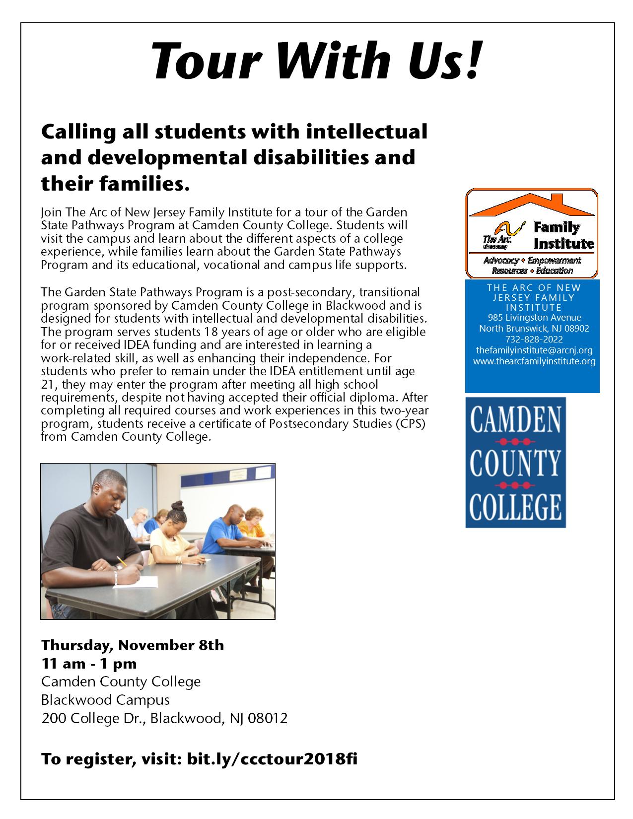 Garden State Pathways Program at Camden County College