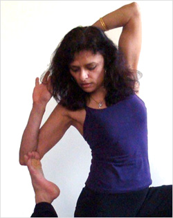 Vijya Hirani, Yoga Instructor
