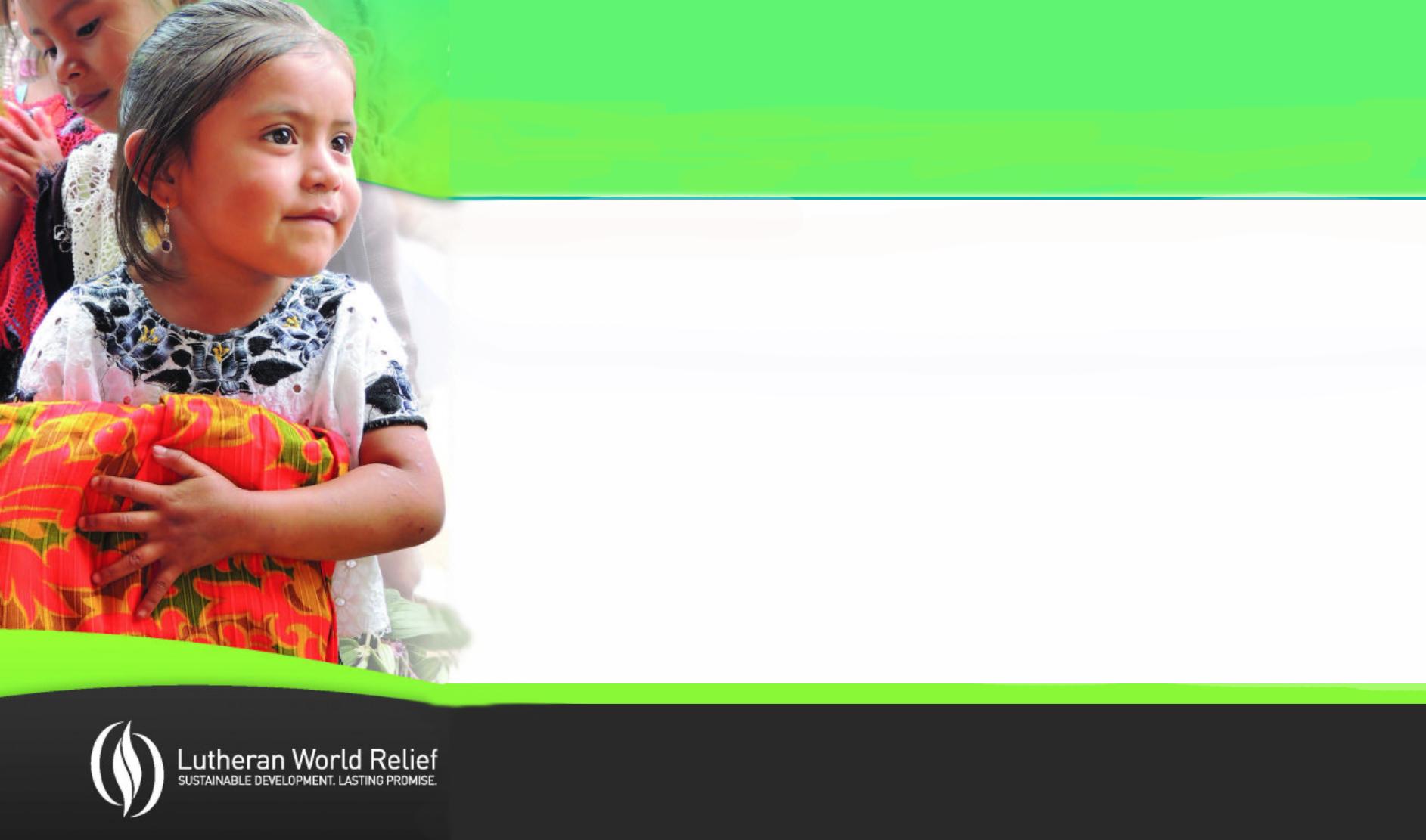 2019 Lutheran World Relief Ingathering