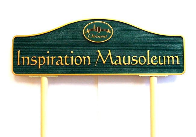 GC16913 -  Mausoleum  Building Identification Sign