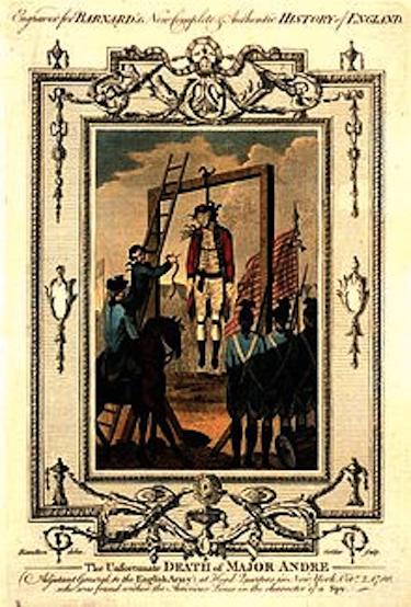 1780: British Major John André Hanged As a Spy