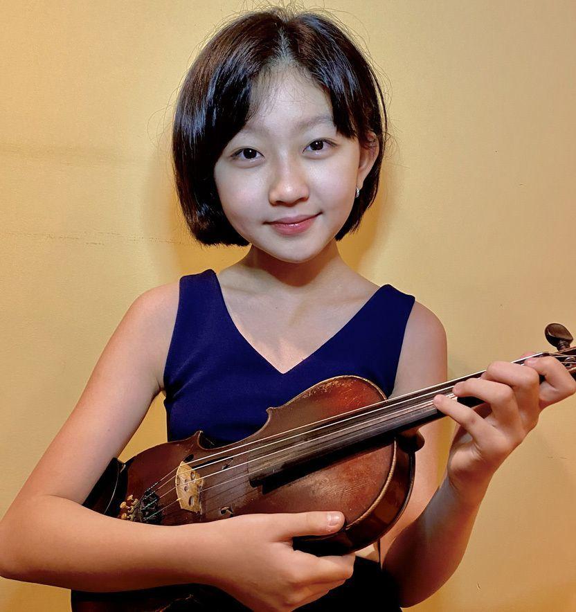 Jessica Jeon, violin
