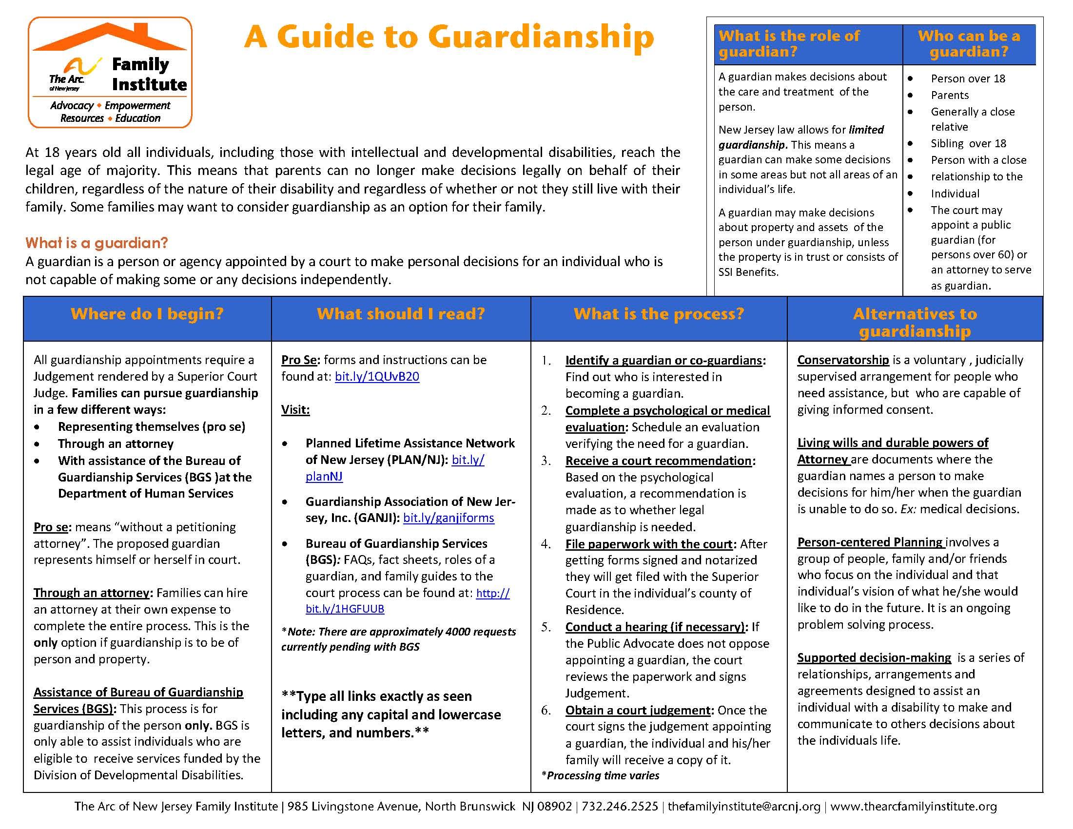 Understanding Guardianship & Alternative Options