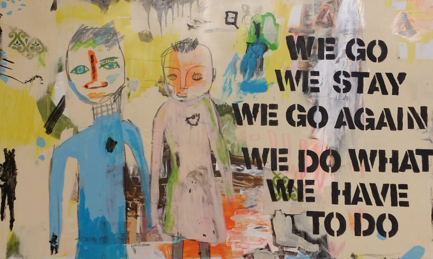 Go/Stay, In/Out: Ladypajama & Tricia Opstad in the Blackfoot Communications Gallery