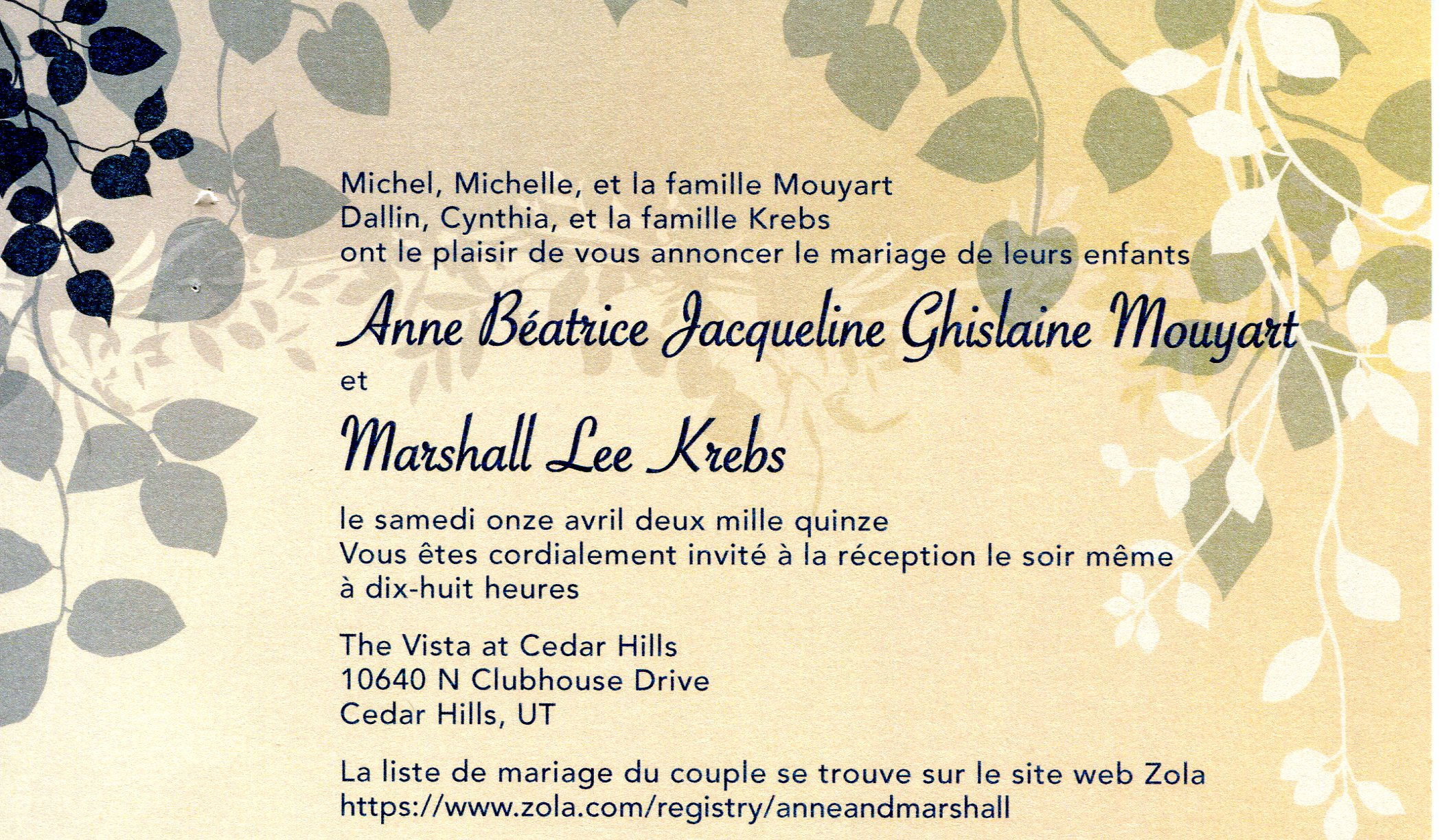 Wedding Envelopes Invitations Programs Printing Delectable Stil Des Invitation De Mariage