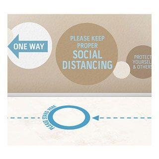 Social Distancing Printing