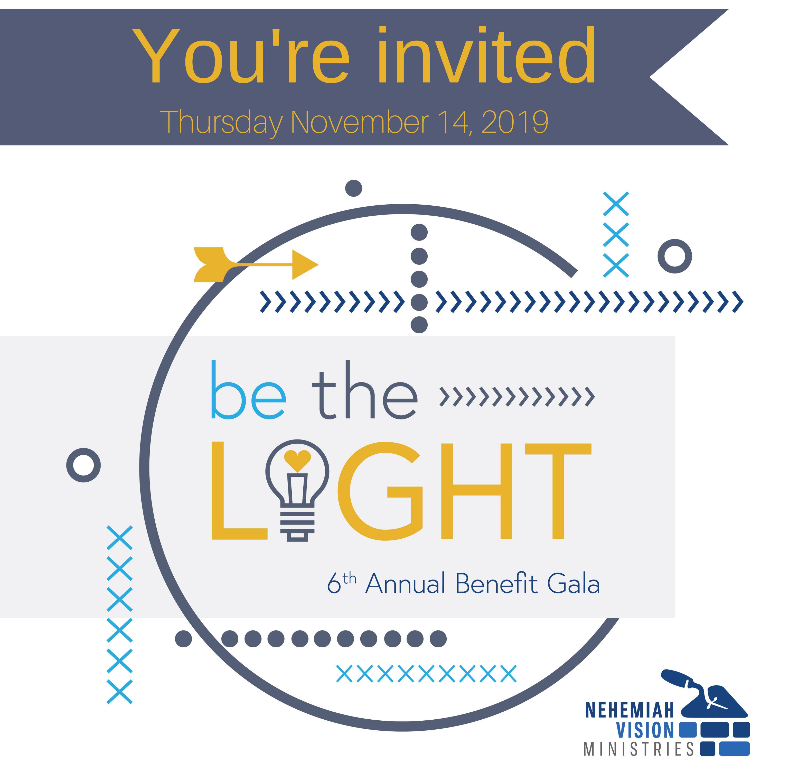 Be The Light Gala