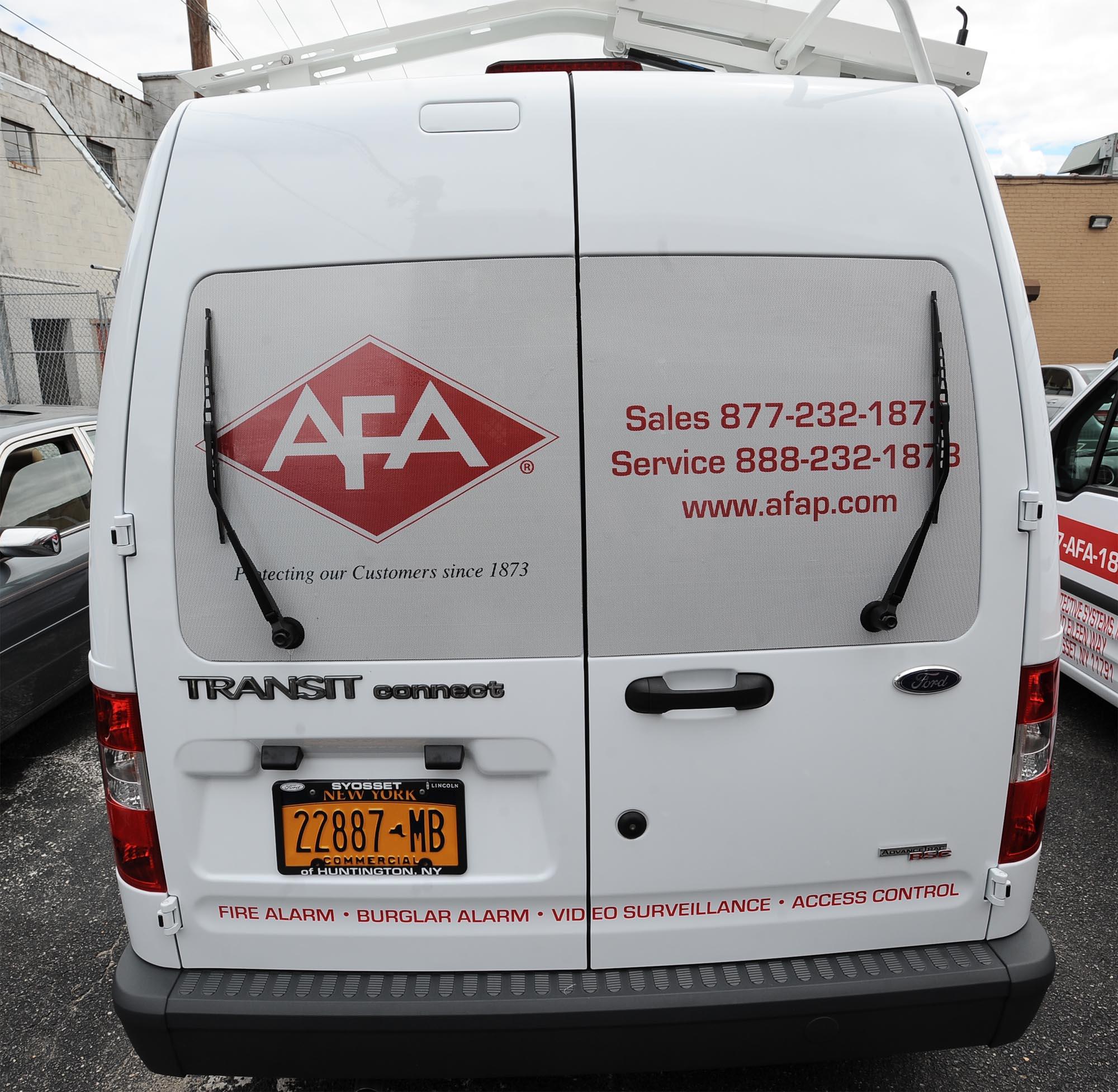 AFA Van Rear