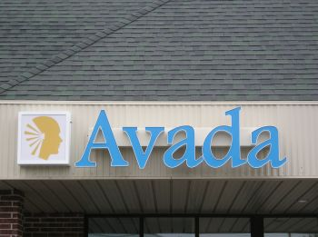 Illuminated Sign - Channel Letters - Avada