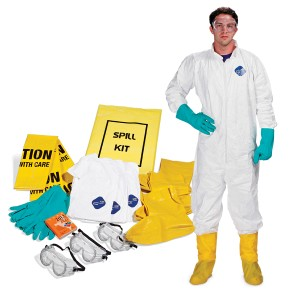 A01UB010 Personal Protection Spill Kit
