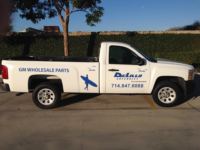 Parts Truck Graphics