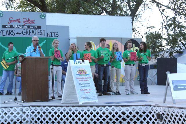 South Dakota State Fair Foundation Kicks Off Capital Campaign - $1,183,250 Raised