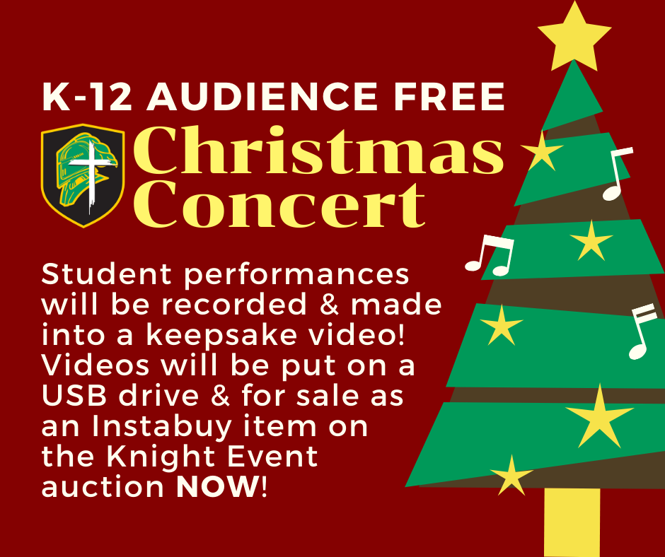 K-12 Audience Free Christmas Concert