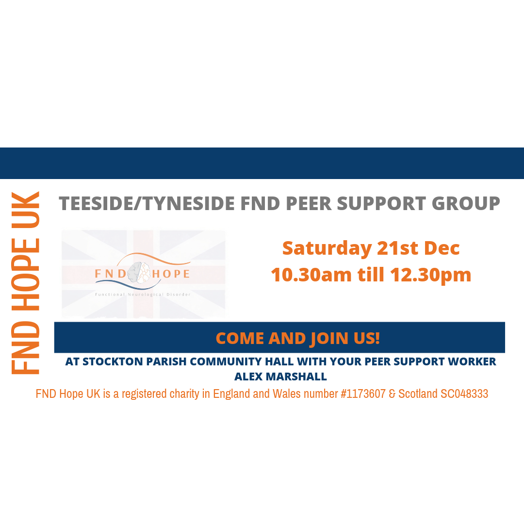 Teeside/Tyneside FND Peer Support Group