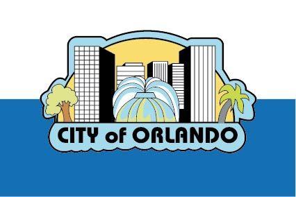 X33126 -  Flag of the City of Orlando, Florida