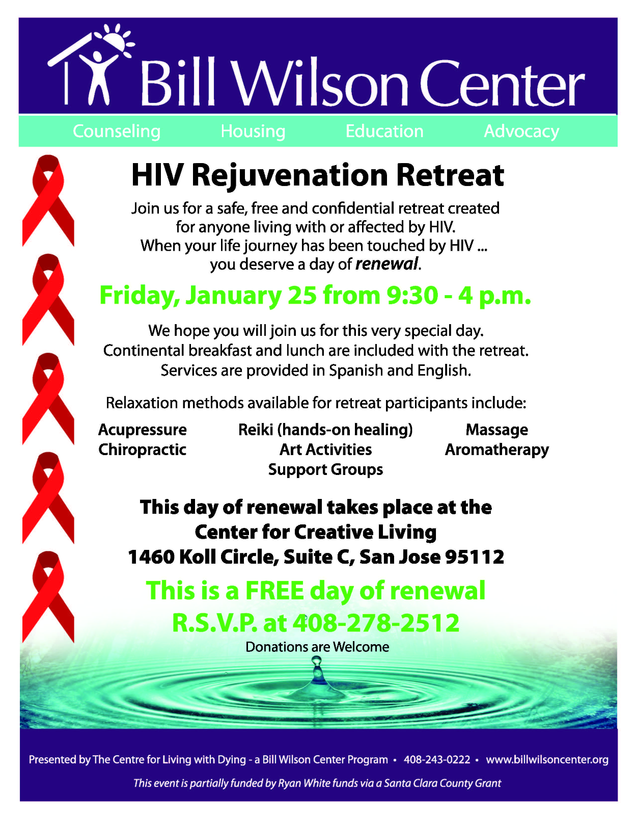 HIV Rejuvenation Retreat