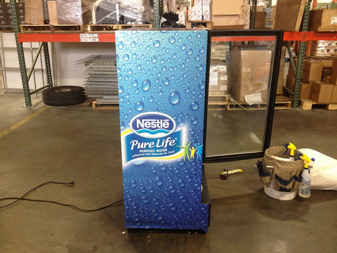 Beverage distributor cooler wraps