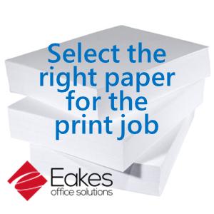 Eakes Paper Buying Guide