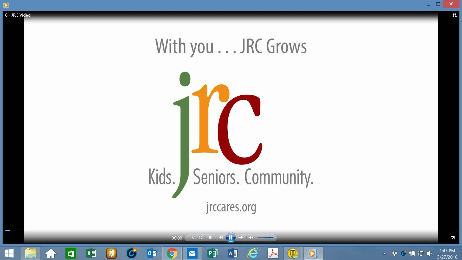 "Watch the Video! ""JRC CARES"""