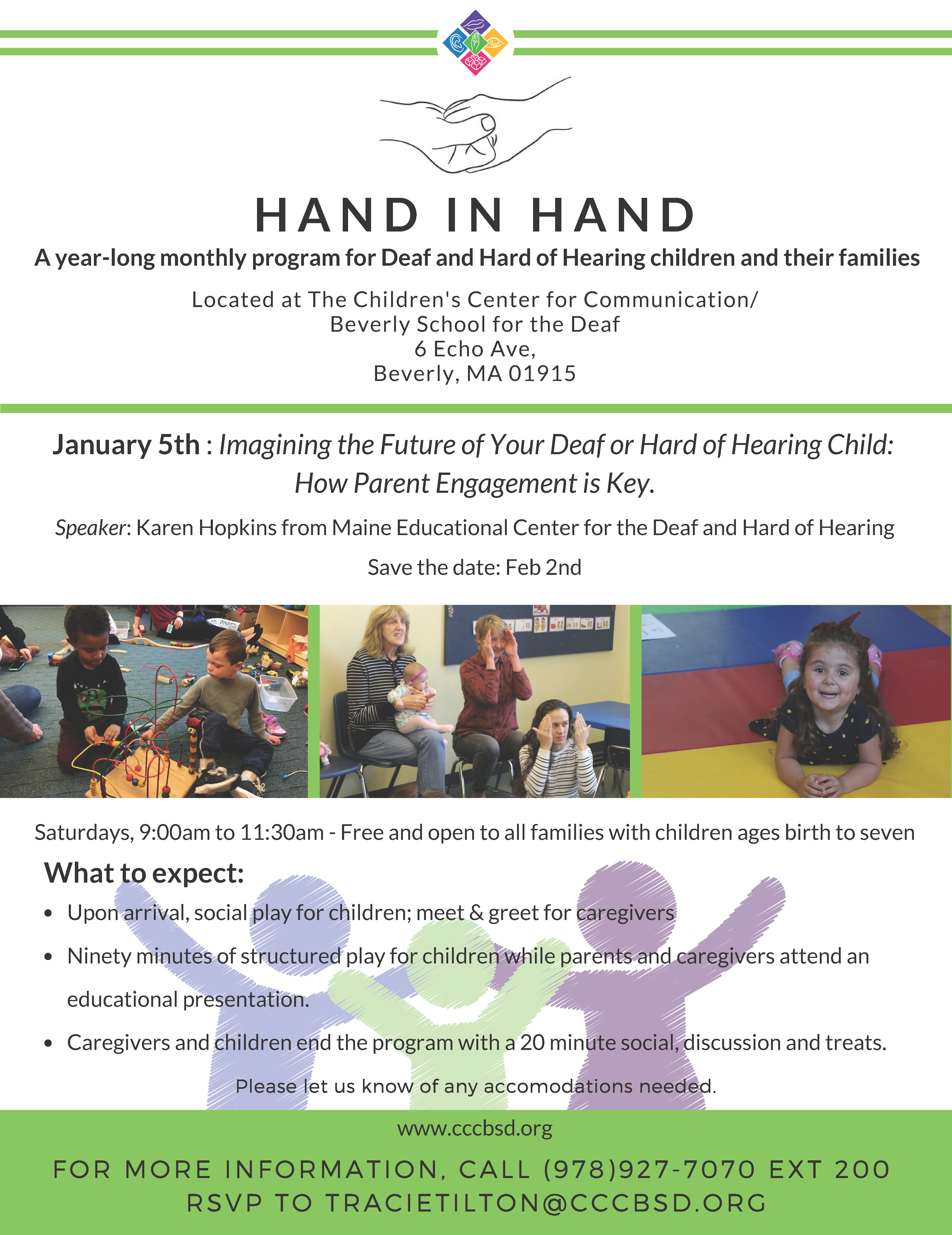 Hand in Hand Program at CCC/BSD