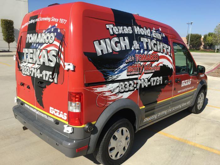 Commercial Van Wrap